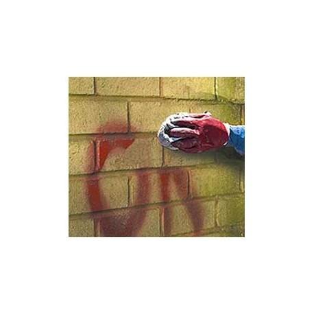 Graffiti verwijderings gel
